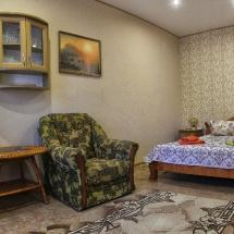 Пансионат «Фламинго» (1-но комнатный номер с двуспальной кроватью)_2